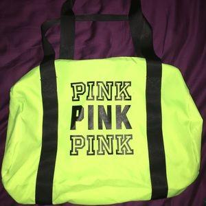 PINK Small Duffle Bag
